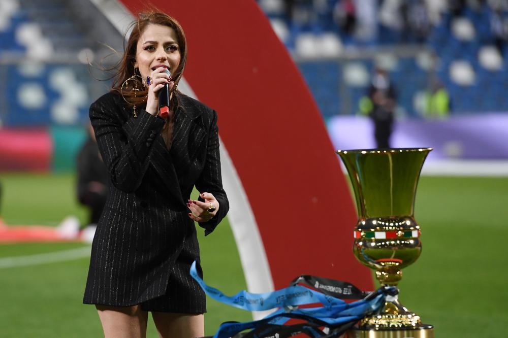 Db Reggio Emilia 19/05/2021 - finale Coppa Italia / Atalanta-Juventus / foto Daniele Buffa/Image Sport nella foto: Annalisa Scarrone