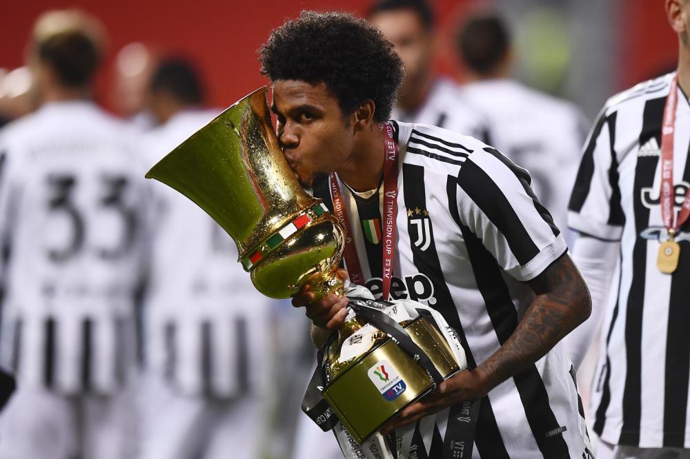 Reggio Emilia 19/05/2021 - finale Coppa Italia / Atalanta-Juventus / foto Image Sport nella foto: Weston McKennie