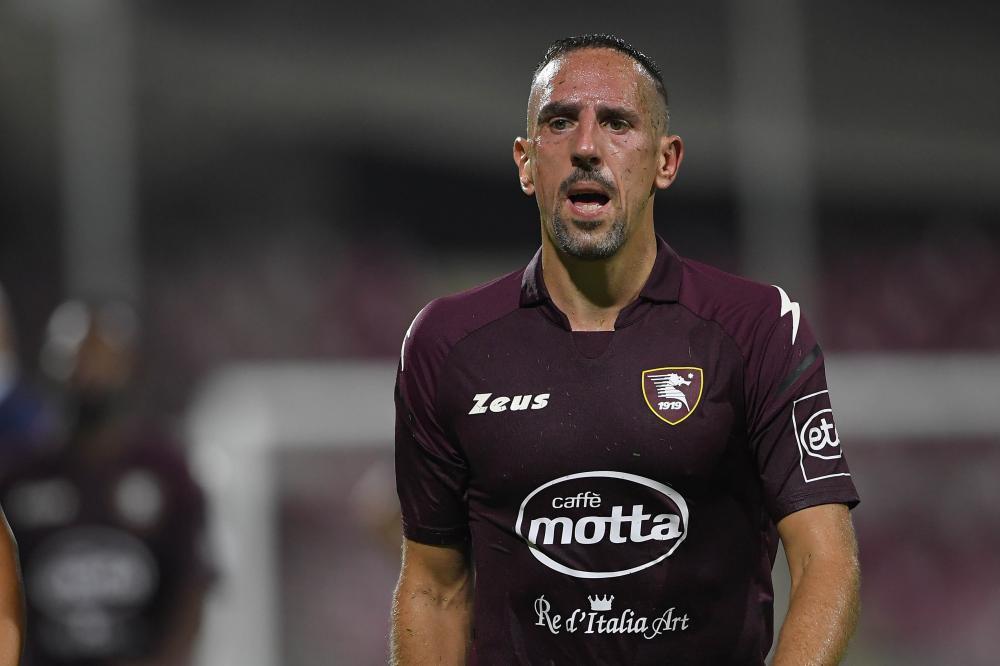 Salerno, Salernitana-Atalanta, Campionato Serie A 2021/22 Nella foto: Franck Ribery ( Salernitana )