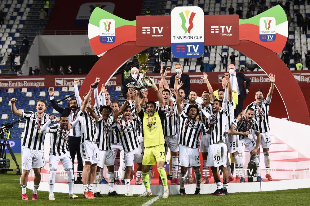 Reggio Emilia 19/05/2021 - finale Coppa Italia / Atalanta-Juventus / foto Image Sport nella foto: Juventus