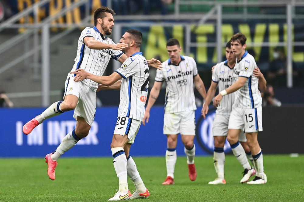 Db Milano 25/09/2021 - campionato di calcio serie A / Inter-Atalanta / foto Daniele Buffa/Image Sport nella foto: esultanza gol Rafael Toloi