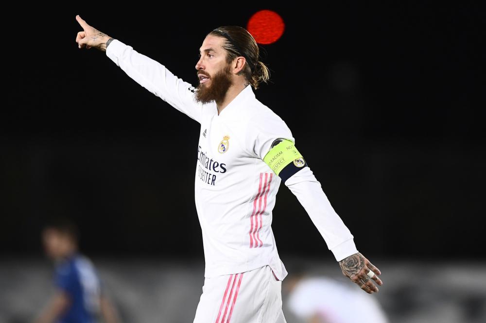 Madrid (Spagna) 16/03/2021 - Champions League / Real Madrid-Atalanta / foto Image Sport nella foto: Sergio Ramos