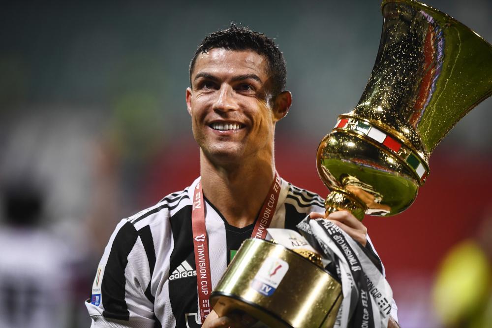 Reggio Emilia 19/05/2021 - finale Coppa Italia / Atalanta-Juventus / foto Image Sport nella foto: Cristiano Ronaldo