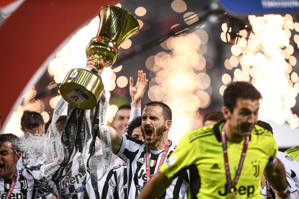 Reggio Emilia 19/05/2021 - finale Coppa Italia / Atalanta-Juventus / foto Image Sport nella foto: Leonardo Bonucci