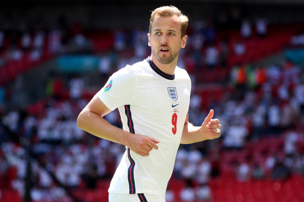 Londra (Inghilterra) 13/06/2021 - Euro 2020 / Inghilterra-Croazia / foto Uefa/Image Sport nella foto: Harry Kane