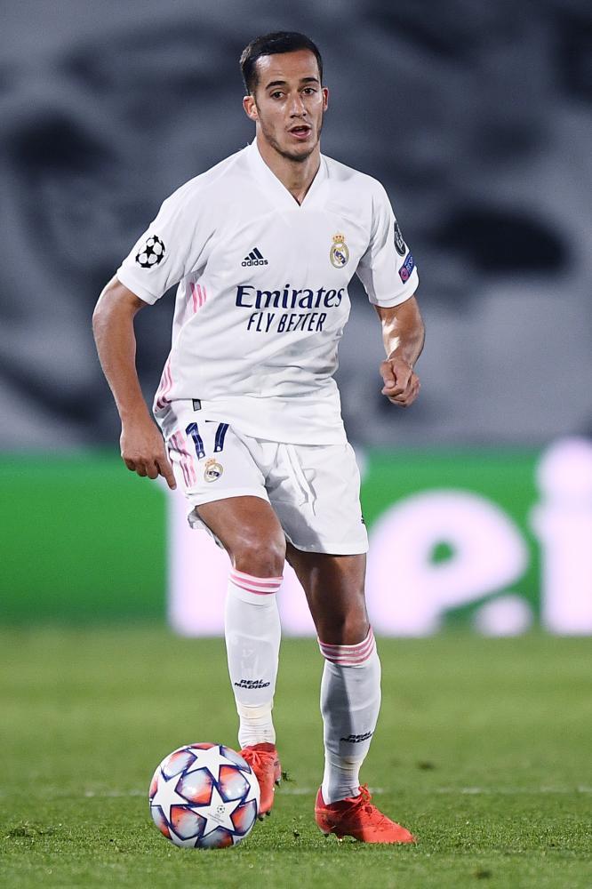 Madrid (Spagna) 03/11/2020 - Champions League / Real Madrid-Inter / foto Image Sport nella foto: Lucas Vazquez