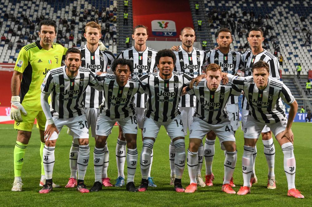 Db Reggio Emilia 19/05/2021 - finale Coppa Italia / Atalanta-Juventus / foto Pool/Image Sport nella foto: formazione Juventus