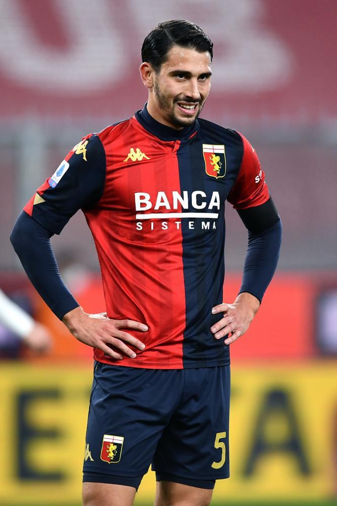 Db Genova 13/12/2020 - campionato di calcio serie A / Genoa-Juventus / foto Daniele Buffa/Image Sport nella foto: Edoardo Goldaniga