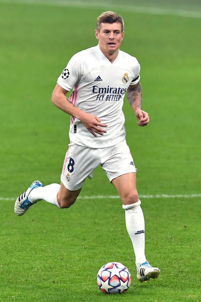 Db Milano 25/11/2020 - Champions League / Inter-Real Madrid / foto Daniele Buffa/Image Sport nella foto: Toni Kroos