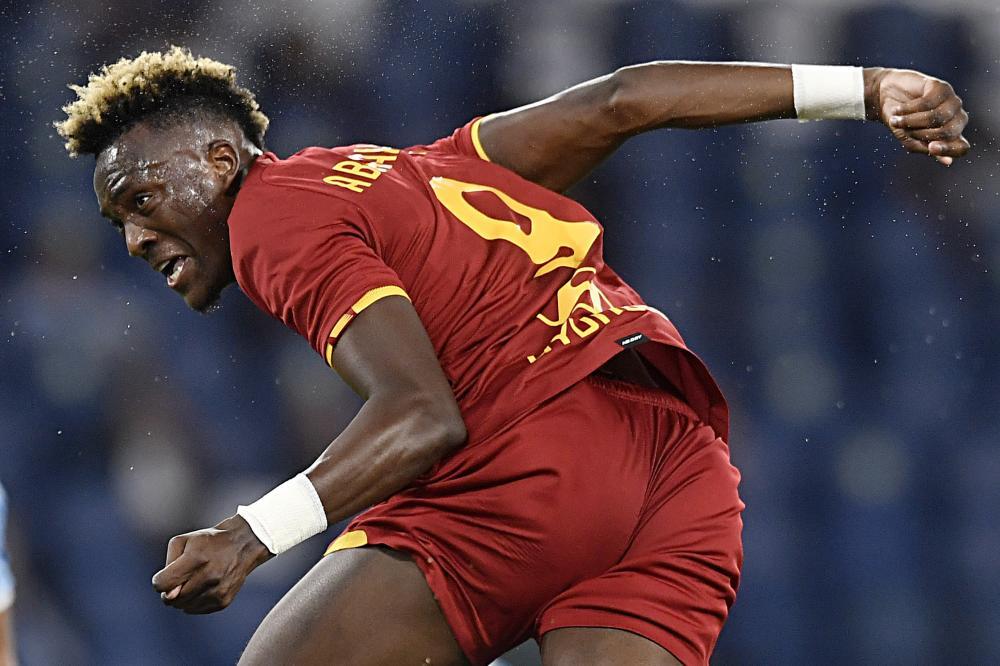 Roma 26/08/2021 - Conference League / Roma- Trabzonspor / foto Insidefoto/Image Sport nella foto: Kevin Ogheneteg Bakumo Abraham