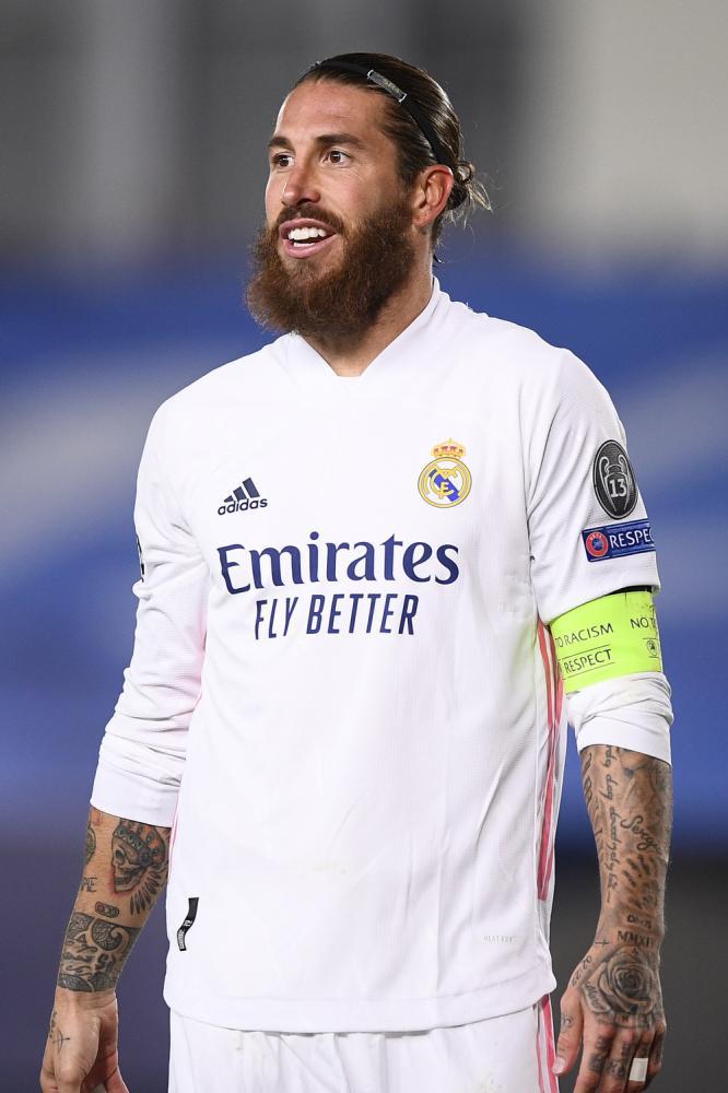 Madrid (Spagna) 03/11/2020 - Champions League / Real Madrid-Inter / foto Image Sport nella foto: Sergio Ramos