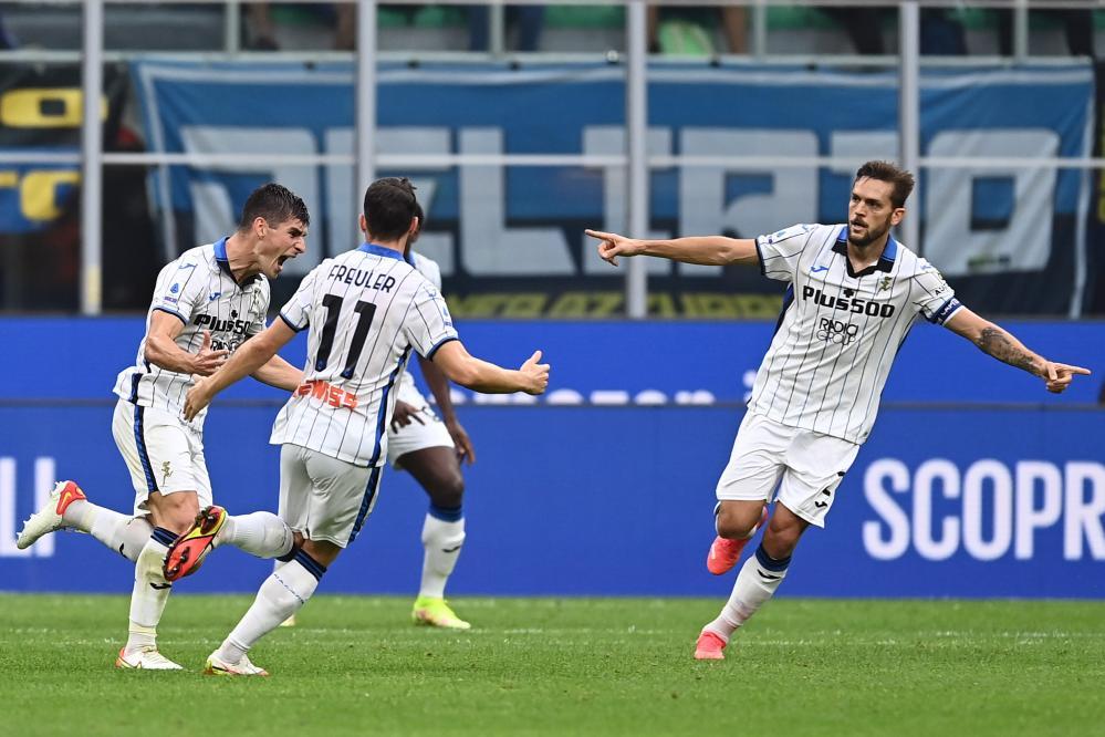 Db Milano 25/09/2021 - campionato di calcio serie A / Inter-Atalanta / foto Daniele Buffa/Image Sport nella foto: esultanza gol Ruslan Malinovskyi