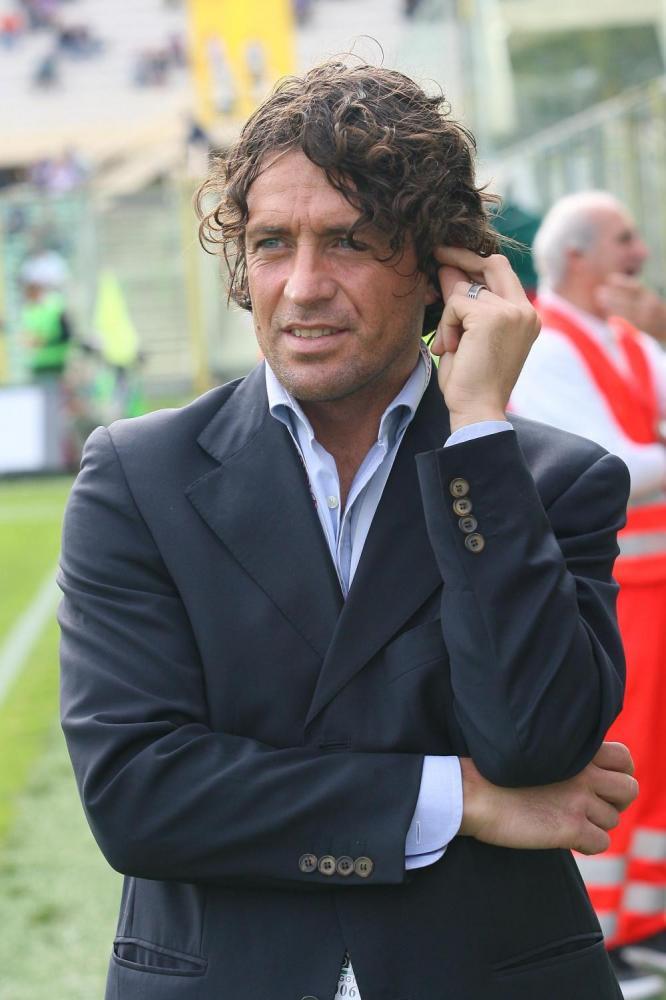 Massimo Orlando commentatore televisivo ex giocatore viola  ; 22.10.2006; Firenze - Stadio Artemio Franchi ; 7ma Giornata Serie A TIM Fiorentina-Reggina
