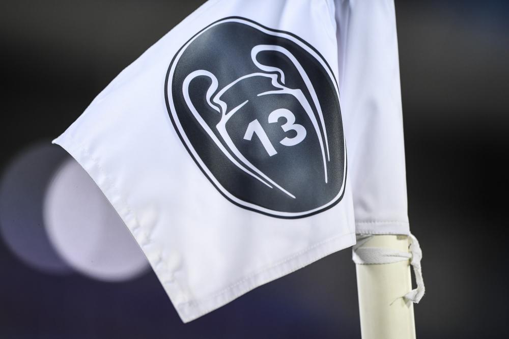Madrid (Spagna) 16/03/2021 - Champions League / Real Madrid-Atalanta / foto Image Sport nella foto: bandierina