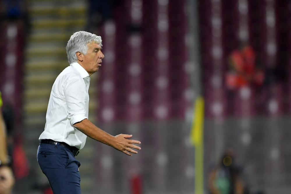 Salerno, Salernitana-Atalanta, Campionato Serie A 2021/22 Nella foto: Gian Piero Gasperini ( Atalanta )