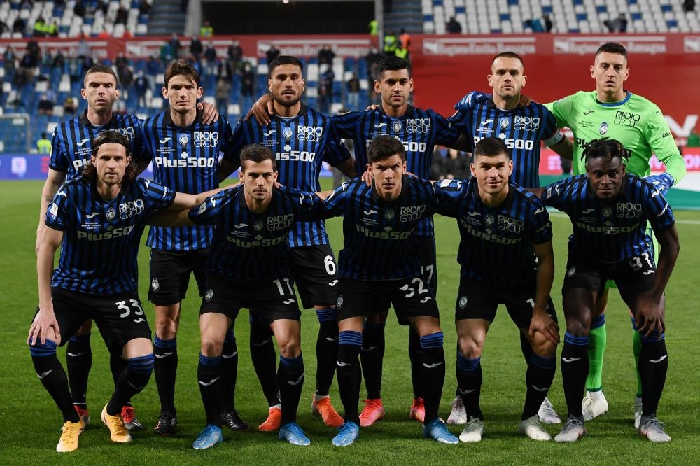 Db Reggio Emilia 19/05/2021 - finale Coppa Italia / Atalanta-Juventus / foto Daniele Buffa/Image Sport nella foto: formazione Atalanta
