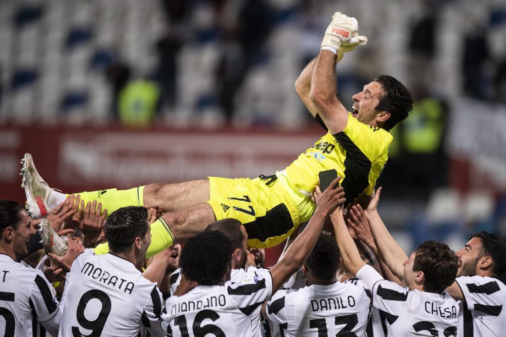 Reggio Emilia 19/05/2021 - finale Coppa Italia / Atalanta-Juventus / foto Image Sport nella foto: Gianluigi Buffon