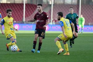 Salerno, Campionato Serie B, Salernitana-Chievo Verona, giocata allo Stadio Arechi Nella foto: Sofian Kiyine ( Salernitana )